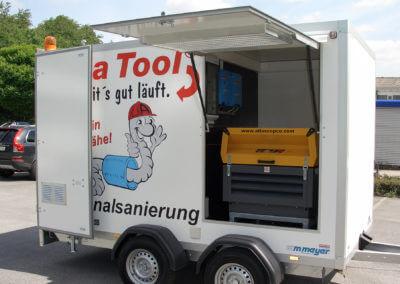 Beispiel Fahrzeugausbau / Hängerausbau