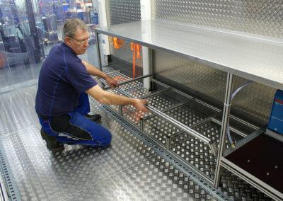 Beispiel Fahrzeugausbau/Hängerausbau